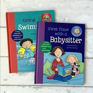 Babysitter & Swimming First Experiences Books